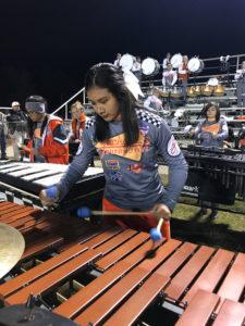 A photo of Mineola High School band.