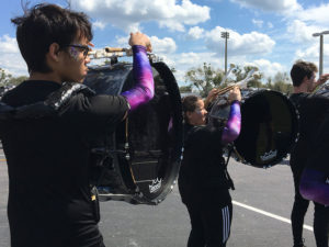 Harnesses Galore: Parents at Fletcher High School in Neptune Beach, Florida, helped raise money for new percussion harnesses and a marimba through a GoFundMe campaign.