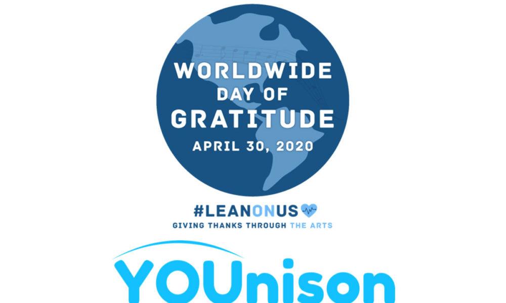 Worldwide day of gratitude.