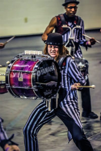 A photo of Railmen Indoor Percussion from Blair, Nebraska.
