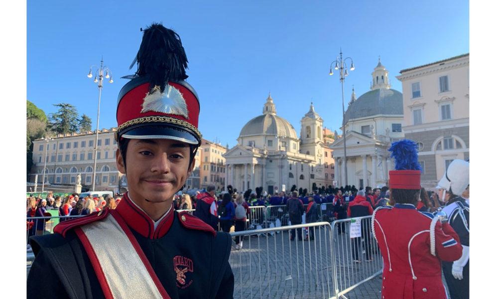 A photo of Sebastian Gutierrez in Rome.