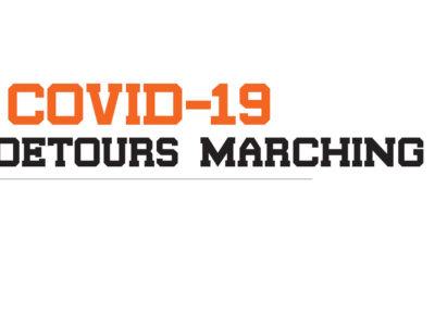 Covid 19 Detours Marching