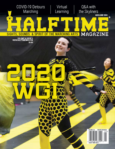 Halftime Magazine Cover May / June 2020