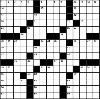 2020 March / April crossword