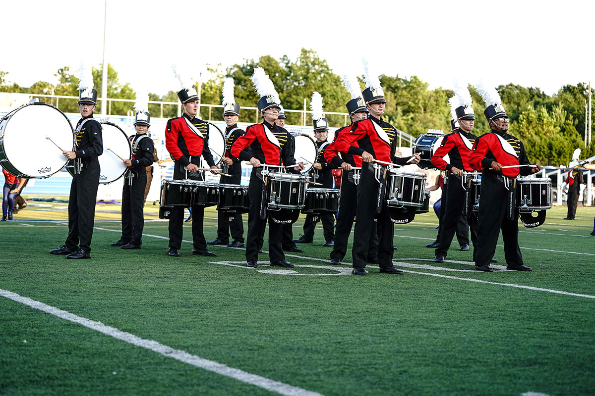 A photo of Skyliners Drum and Bugles Corps.