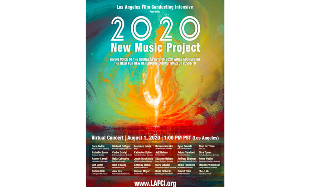 Los Angeles Film Conducting Intensive launches 2020 new music project