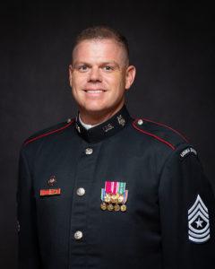 A photo of Sergeant Major Denver Dill.