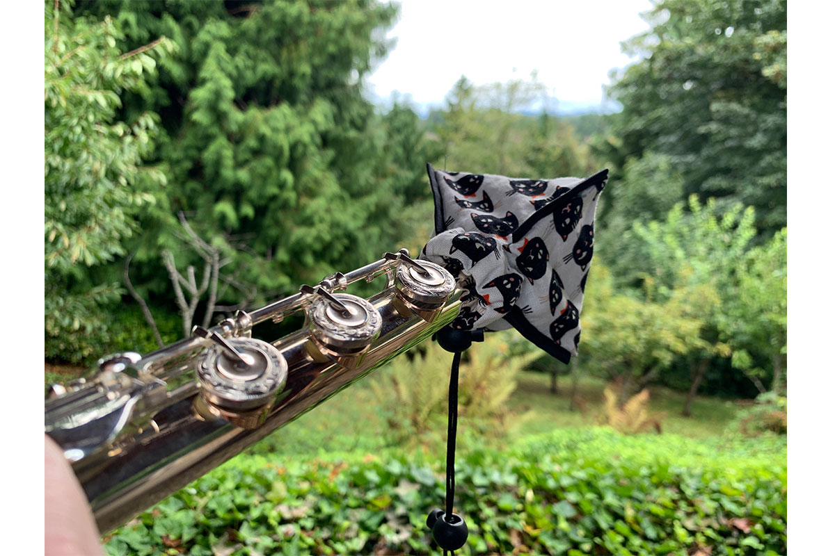 Learn about a flute boot.
