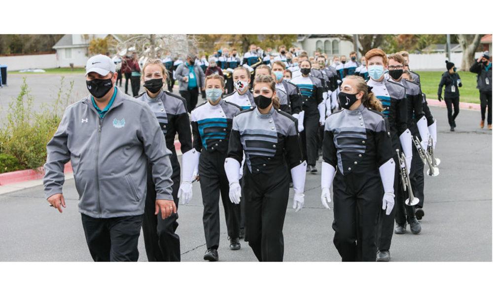 A photo of Farmington High School band.