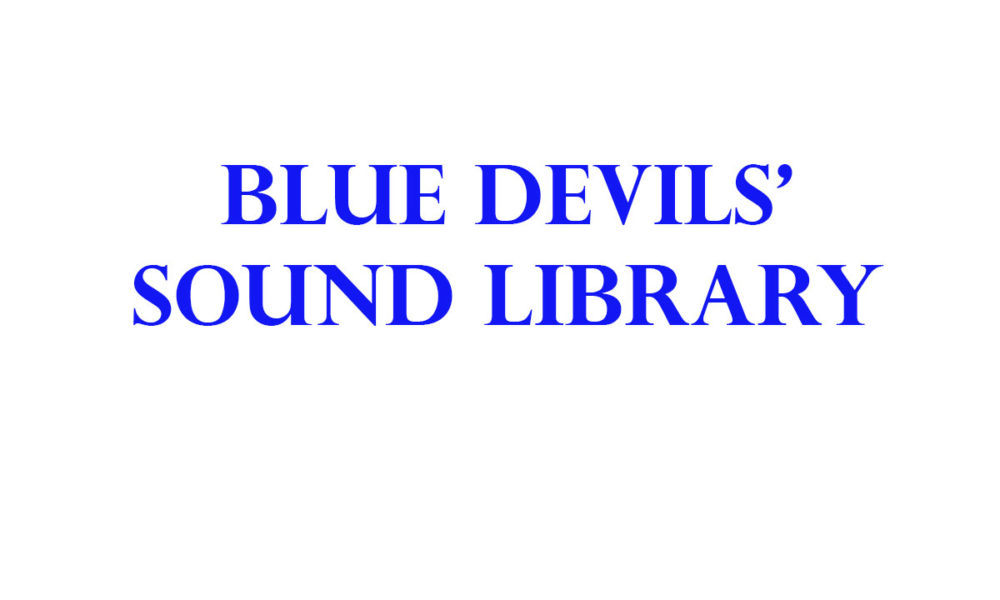 Blue Devils' Sound Library