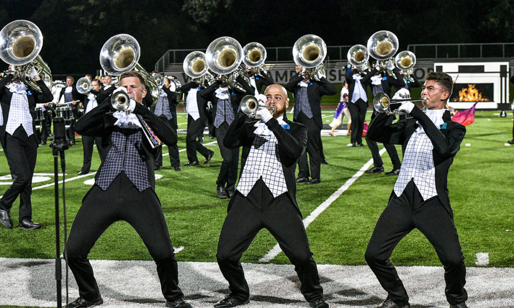 Photo of the Reading Buccaneers Drum and Bugle Corps.